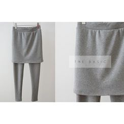 DAILY LOOK - Inset Skirt Leggings