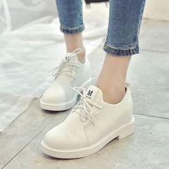 IYATO - 綁帶樂福鞋