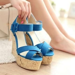 Pangmama - Wedge Sandals