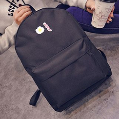 Youme - Embroidered Canvas Backpack