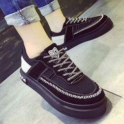 Limone - Letter Platform Sneakers