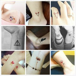 Star of the Day - Set of 30: Waterproof Temporary Tattoo