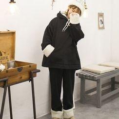QZ Lady - Set: Fleece Lined Hoodie + Pants