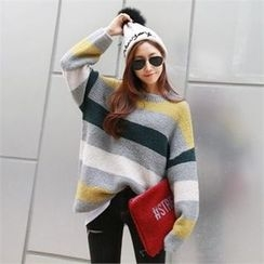 PIPPIN - Drop-Shoulder Color-Block Sweater