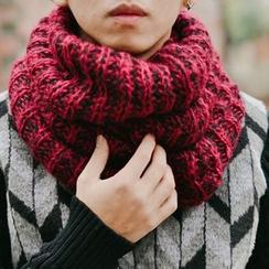 SeventyAge - Melange Knit Scarf