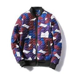 Blueforce - Camouflage Bomber Jacket