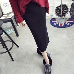 Qimi - Knit Midi Skirt