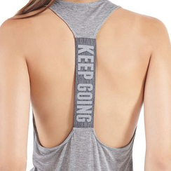 Ariana - Lettering Quick Dry Tank Top