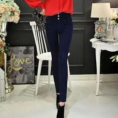Dabuwawa - High-Waist Skinny Jeans
