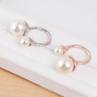 TAIPEI STAR - Faux-Pearl Ring