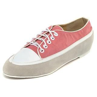 yeswalker - Color-Block Lace-Up Flats