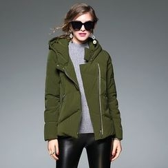Y:Q - Hooded Padded Jacket