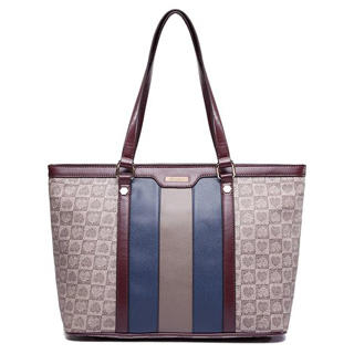 MBaoBao - Color-Block Printed Tote