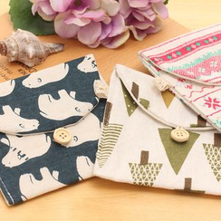 School Time - Print Sanitary Pad Pouch