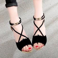 Weiya - Ankle Strap Sandals