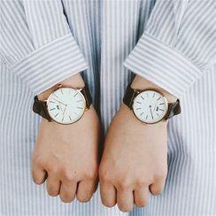 Honey Bee - 情侶款帶式手錶