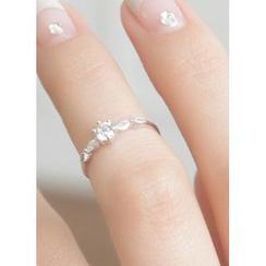 kitsch island - 水钻戒指(两款)