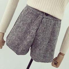 Honeydew - 針織寬腿短褲