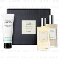 LadyKin - Vanpir Dark Men Premium Set: Face Wash 100ml + Skin Toner 140ml + Emulsion 140ml