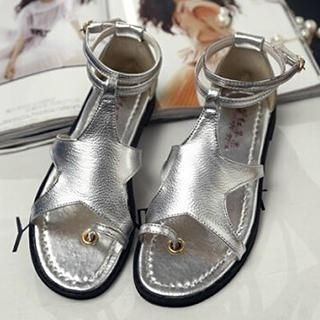 SouthBay Shoes - Toe-Loop Star Accent Sandals