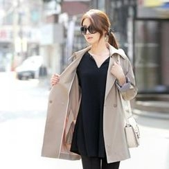 Jcstyle - Loose-Fit Trench Jacket