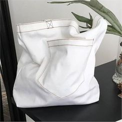 QNIGIRLS - Stitch-Trim Shopper Bag
