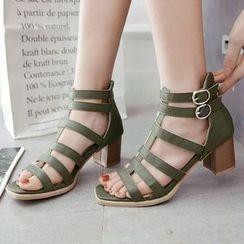 CITTA - Block Heel Sandals