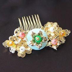 Neostar - 新娘仿珍珠髪梳