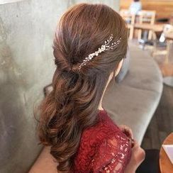 17MART - Beaded Hair Comb