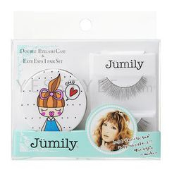 Jumily Eye Makeup Set (2 items): Eyelash (#04)  + Case