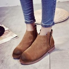 Chryse - 侧拉链及踝靴