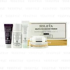 Sisley - Sisleya Eyes Discovery Program: Eye and Lip Cream 15ml + Make-Up Remover 30ml + Cream Mask 10ml + Hydra-Global 10ml