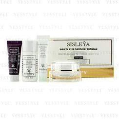 Sisley - Sisleya Eyes Discovery Program: Eye and Lip Cream 15ml + Make-Up Remover 30ml + Cream Mask 10ml + Hydra-Global 10ml