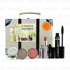 Cargo - A Vintage Escape Suitcase Kit: 1xLip Color, 1xEyeshadow, 1xBlush, 1xLip Primer, 1xMascara