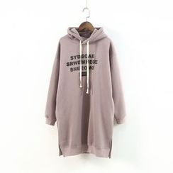 Ranche - Lettering Long Hoodie