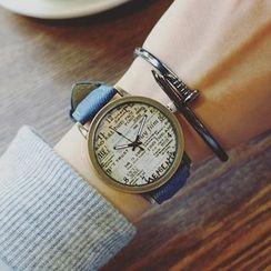 Honey Bee - Printed Strap Watch