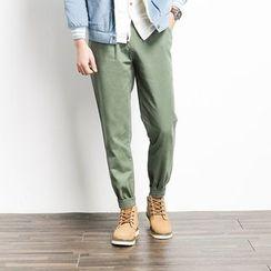 除一 - 纯色慢跑裤
