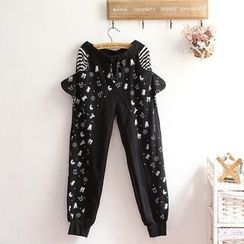 akigogo - Printed Sweatpants