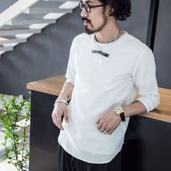YIDESIMPLE - Chinese-Style Linen Top