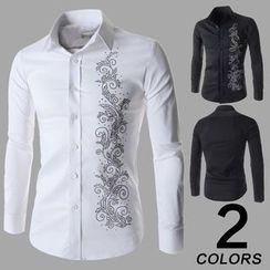 Hansel - Patterned Shirt