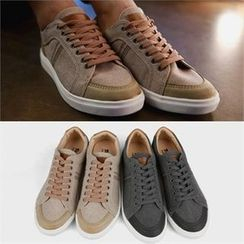 Smallman - Faux-Leather Sneakers