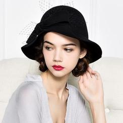 BADA - Ribbon Felt Hat