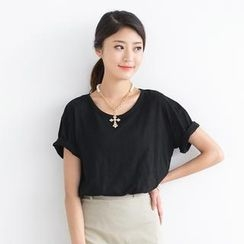 SO Central - Short-Sleeve Round-Neck T-Shirt