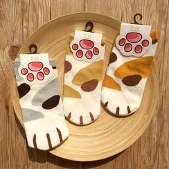雲木良品 - 花紋襪子