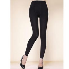 Moonbasa - Fleece-Lined Leggings
