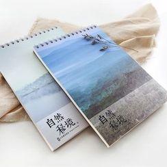 雲木良品 - 印花中筆記本
