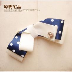 Joycee - Color Block Bow Tie