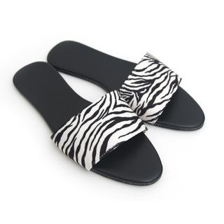 Zakka - Animal-Print Slippers