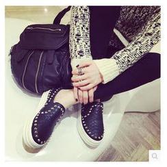 BAYO - 釘珠厚底輕便鞋