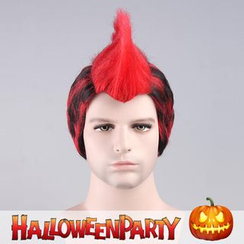 Party Wigs - Halloween Party Wigs - Red Punk